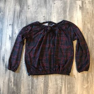 Verve ami long sleeve blouse Size L